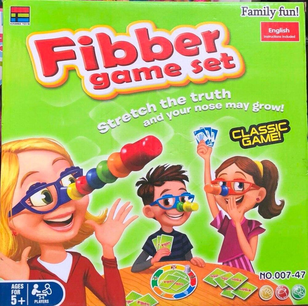 Children's Toys Fibber Game Set Board Game For Boys Girls Kids Funny Novelty Queer Play With Friends Educational Toys Igrushki