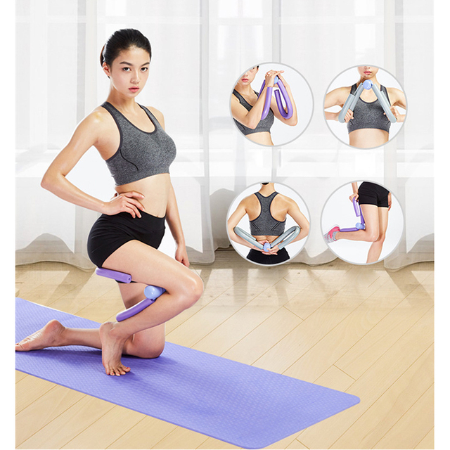 High Quality Leg Arm Muscle Fitness Thigh Master Sports Gym Yoga Workout Exercise Equipment Slim Training Exerciser