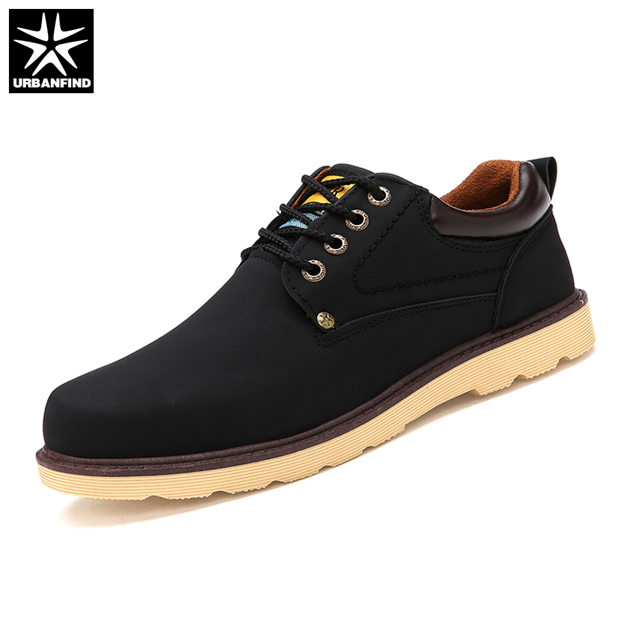 Man Casual Shoes Spring Summer Lace-up Style Pu Leather Flats Fashion Trend Round Toe Men Work Shoe 2017 Hot Sale 2016 spring summer new old leather lace round japanese casual shoes retro fashion leather shoes