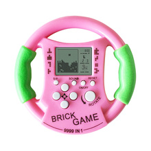 New Kids childhood educational toys steering wheel console Tetris handheld game consoles Kids console