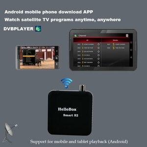 Image 5 - جهاز استقبال ذكي من Hellobox مزود بـ S2 مزود بقمر صناعي DVBS2 يدعم الهاتف المحمول/التلفزيون الذكي/صندوق تلفزيون يعمل بنظام الأندرويد يدعم CCCAM
