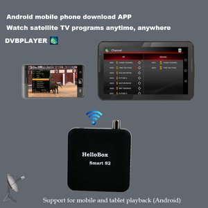 Image 5 - Hellobox Smart S2 Receiver Satellite  Satellite Finder DVBPLAY APP Support Mobile Phone/Smart TV/TV BOX/PC/Tablet Play