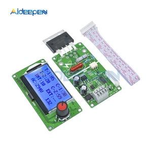 Image 2 - 100A Digital LCD Spot Welder Welding Machine Double Dual Pulse Encoder Time Control Weld Module Board Electronic Controller