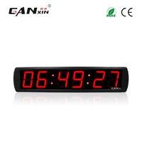 [Ganxin] 4 цифровые светодиодные часы стикер настенные часы большой светодиодный таймер обратного отсчета времени