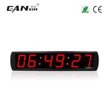[Ganxin]4″ digital led clock sticker wall clocks big led clock countdown timer