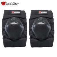 2016 HEROBIKER Motorcycle Knee Supporter Elastic Sports Leg Knee Support Brace Wrap Protector Motorbike Knee Guards