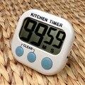 Grande LCD Kitchen Cooking Temporizador Count-Down Up Relógio Despertador Loud Magnético Frete Grátis