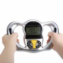 Wireless Portable Digital LCD Screen Handheld BMI Tester Body Fat Monitors Health Care Analyzer Fat Meter Detection