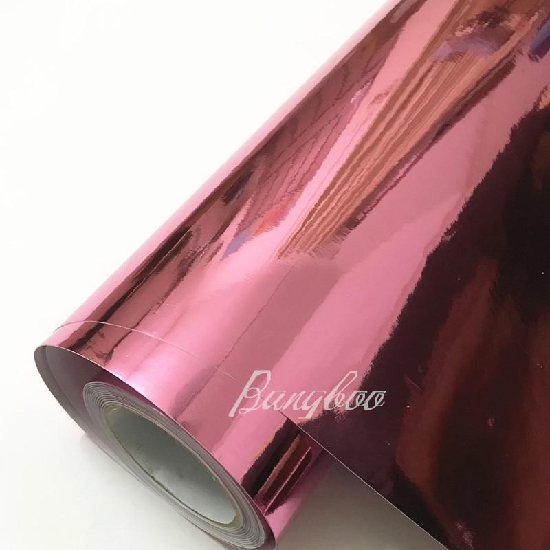 Autocollant de corps de film de vinyle de voiture de Chrome bleu foncé de miroir d'enveloppe de style avec la bulle libre d'air pour la moto de Vehiche