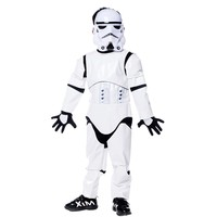 2017 New Children Deluxe Star Wars The Force Awakens Storm Troopers Halloween Costume Kids Cosplay Halloween