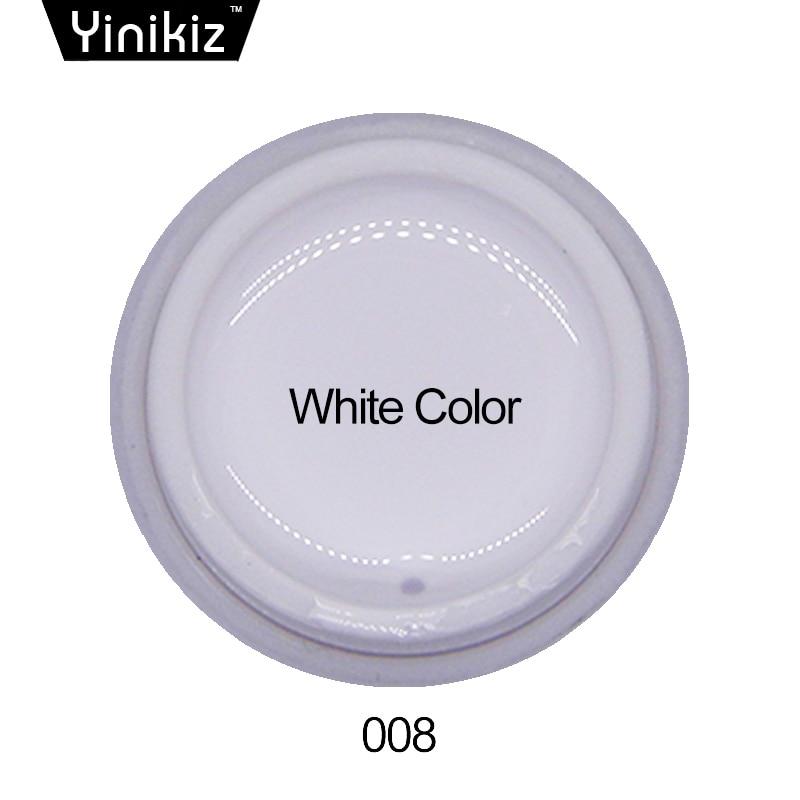 Yinikiz Painting Nail Varnish 12 Colorful Gel Polish Drawing Colors Long Lasting Glitter Soak Off Uv Bio