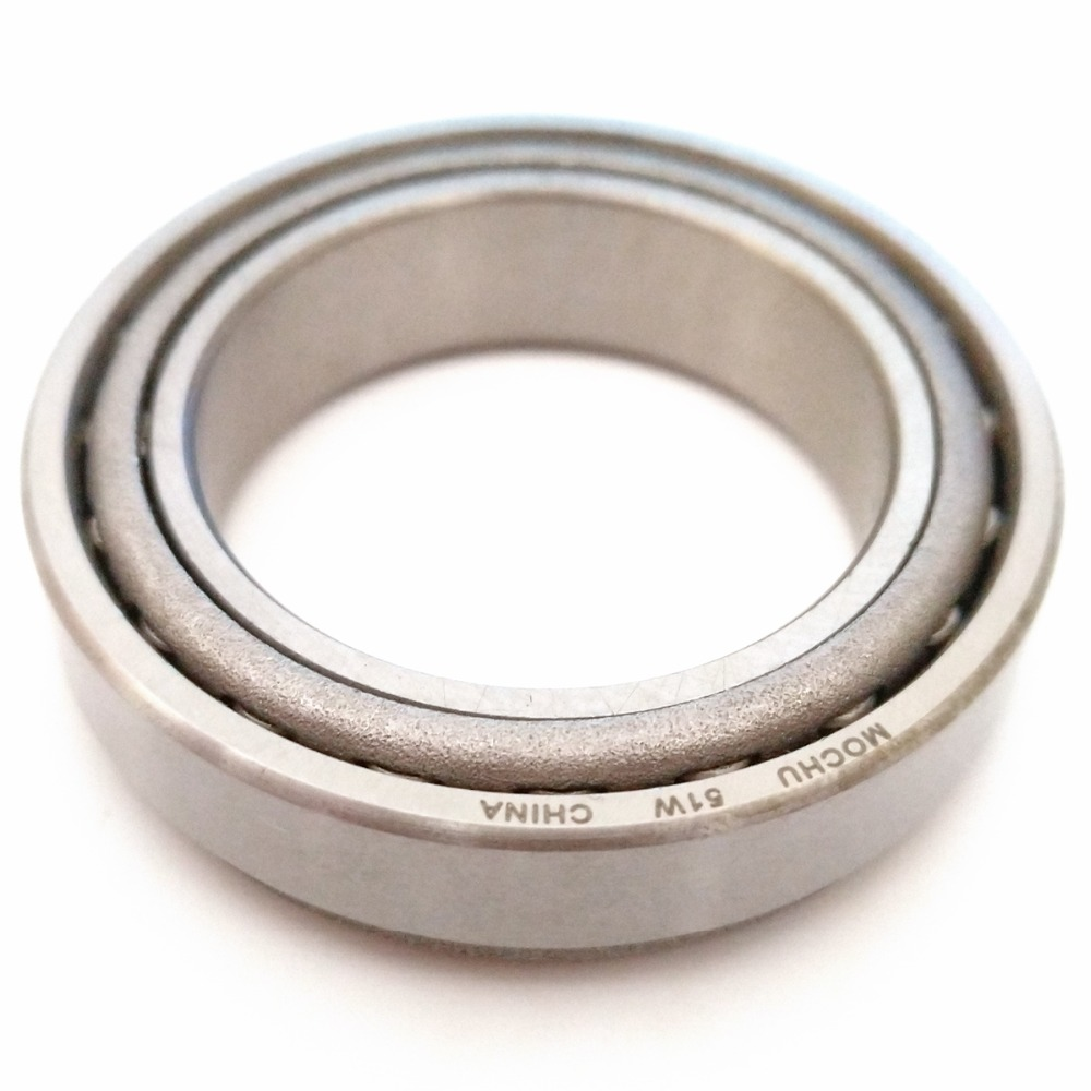Free Shipping 1pcs Bearing 34W/51W 34X51X12 34W 51W Cone + Cup MOCHU Single Row Tapered Roller Bearings