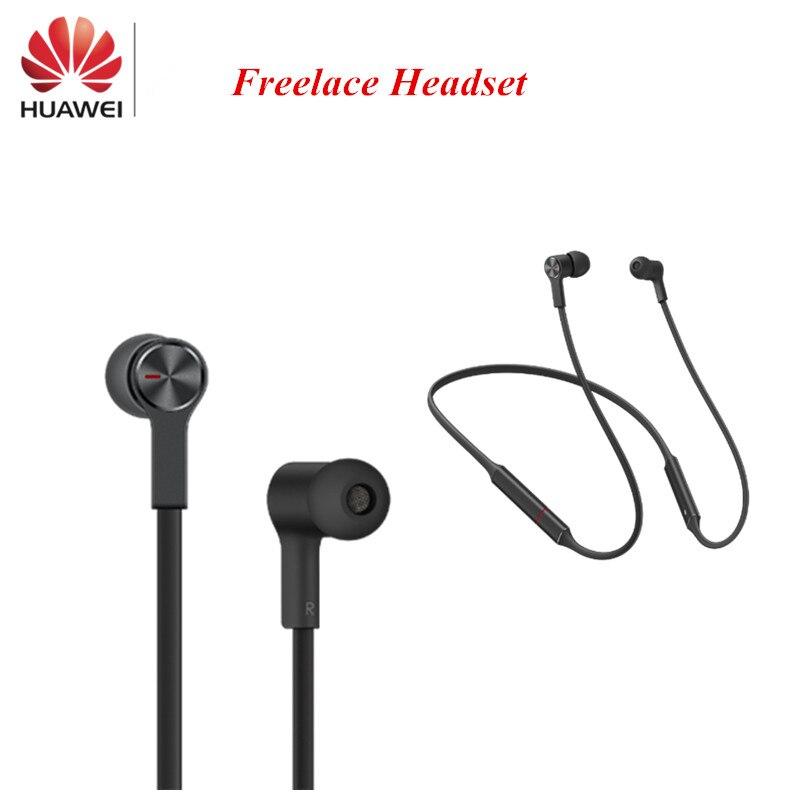 In stock Huawei FreeLace Sport Earphone waterproof in ear Bluetooth wireless Headset Metal Cavity Liquid Silicon