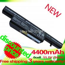 4400 mAh batería para Clevo C4500BAT-6 C4500BAT6 C4500BAT 6 B5100M B5130M B4100M B4105 C4500 C4500Q B7110 C4100 C5100Q C5500Q