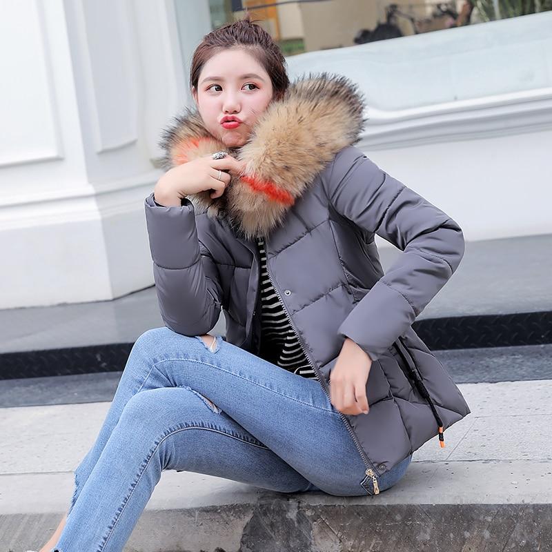 100% Wahr Parka Frauen 2019 Winter Jacke Frauen Mäntel Mit Kapuze Mäntel Weibliche Parka Dicke Baumwolle Gepolsterte Futter Winter Weibliche Mäntel Aromatischer Geschmack