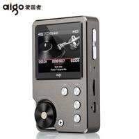 AIGO MP3 105 Player Loseless HIFI Mini MP3 With TFT Screen Hi res Flac High Quality DSD 64 DAC WM8965 Sport EQ Adjustable