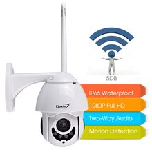 Wifi IP Camera Wireless 1080P 360 HD CCTV alarm ONVIF Security Waterproof IP66 Outdoor Dome exterieur ip Camera Cam exterior(China)