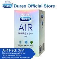 320 יח'\חבילה Durex קונדום חבילת אוויר דק במיוחד קונדום חומר סיכה נוספת בטוח מוצרים אינטימיים מוצרים ארוטיים צעצועי מין למבוגרים לגברים עיכוב
