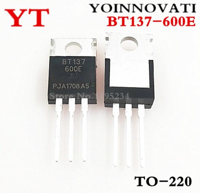 Envío gratis 10 unids/lote BT137-600E BT137-600 BT137 a-220 de mejor calidad