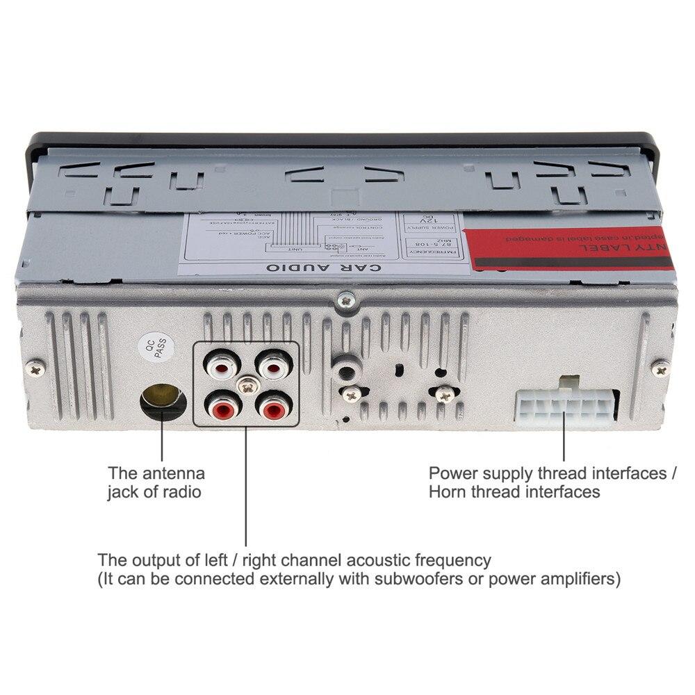 Audio jugador SD DIN