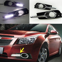 1 SeT DRL Daytime Running Lights Guide Lamp Fit For Chevrolet Cruze 2011 2014