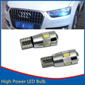2X T10 W5W 6 LED Side Light No Error For AUDI A2 A3 8L 8P A4 B5 B6 A6 4B 4F A8 D2 TT Q3 Q5 Q7 C5 C6 C7 S2 S4