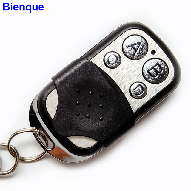 Portable 433mhz Garage Door Remote Control Presentation Universal