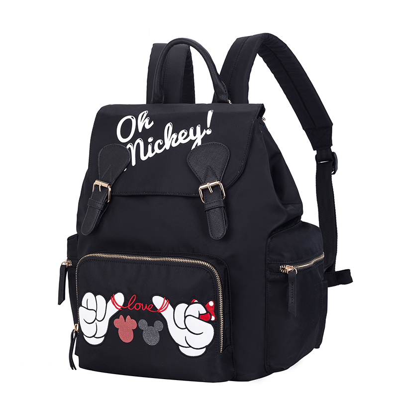Disney Baby diaper bag Maternity Nappy stroller bags baby care outdoor backpack Mickey Minnie Insulation Mummy backpack wet bagsDisney Baby diaper bag Maternity Nappy stroller bags baby care outdoor backpack Mickey Minnie Insulation Mummy backpack wet bags
