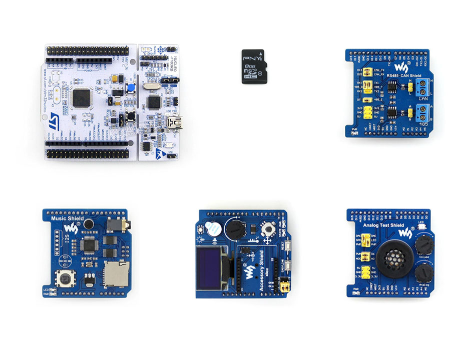 Фотография Parts ARM STM32 Board NUCLEO-F103RB Package B ST Official STM32 Nucleo Board ST Morpho Headers