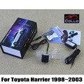 Mais novo 12 V estilo do carro cauda luz de aviso / para Toyota Harrier 1998 ~ 2003 / Fog neve chuva Haze mau tempo Auto traseiro luzes de Laser