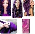BERINA PROFESSIONALS Hair Color Cream - Permanent Hair Dye Color - A6 : Violet Free Shipping