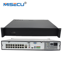 16CH POE NVR 1080P 1 5U Onvif POE Network 16POE Port Recording HDMI VGA P2P PC