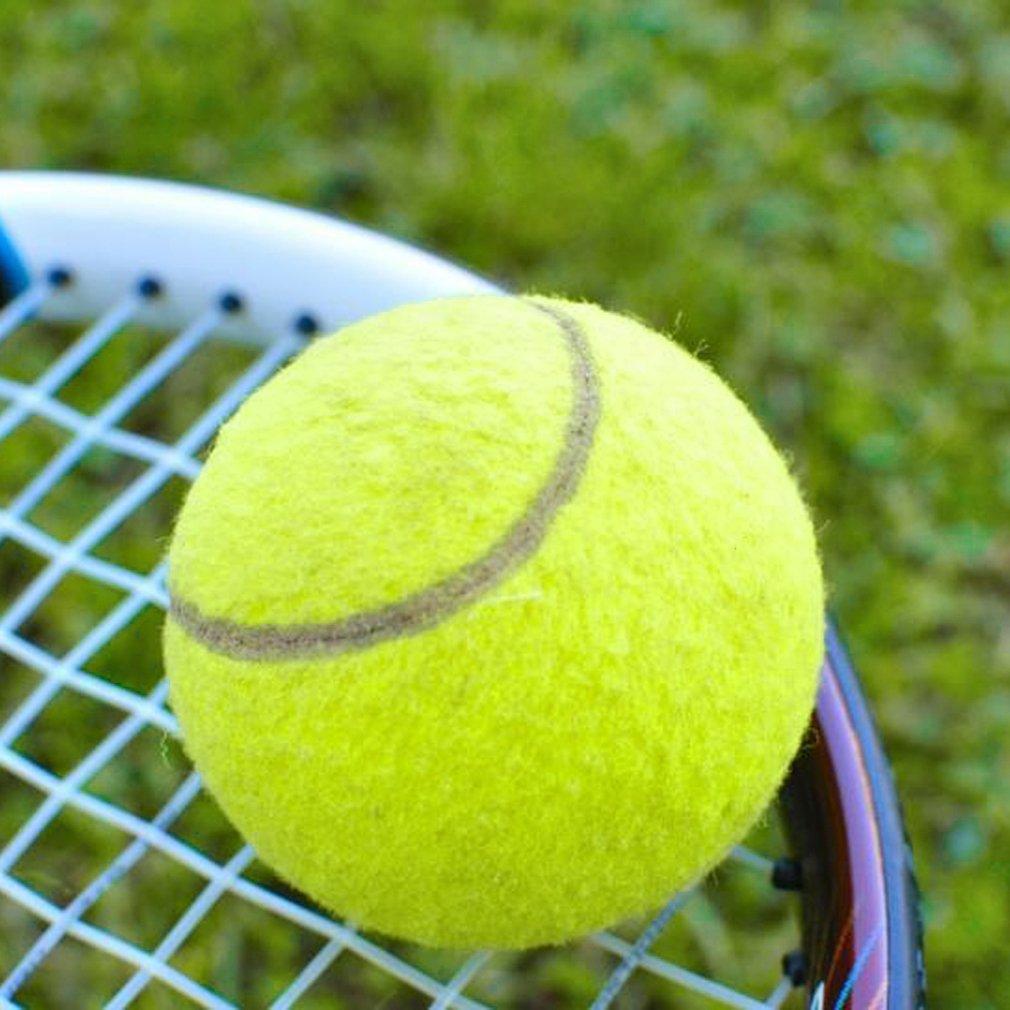 Kuning Turnamen Tenis Bola Olahraga Outdoor Menyenangkan Ideal Untuk Tennis Kriket Fun Pantai Anjing Kualitas Tinggi