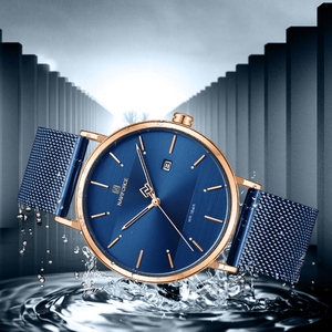 Image 4 - Luxus Marke Uhren Set NAVIFORCE Einfache Art Und Weise Männer Frauen Armbanduhr Casual Wasserdichte Männliche Damen Paar Quarz Uhr