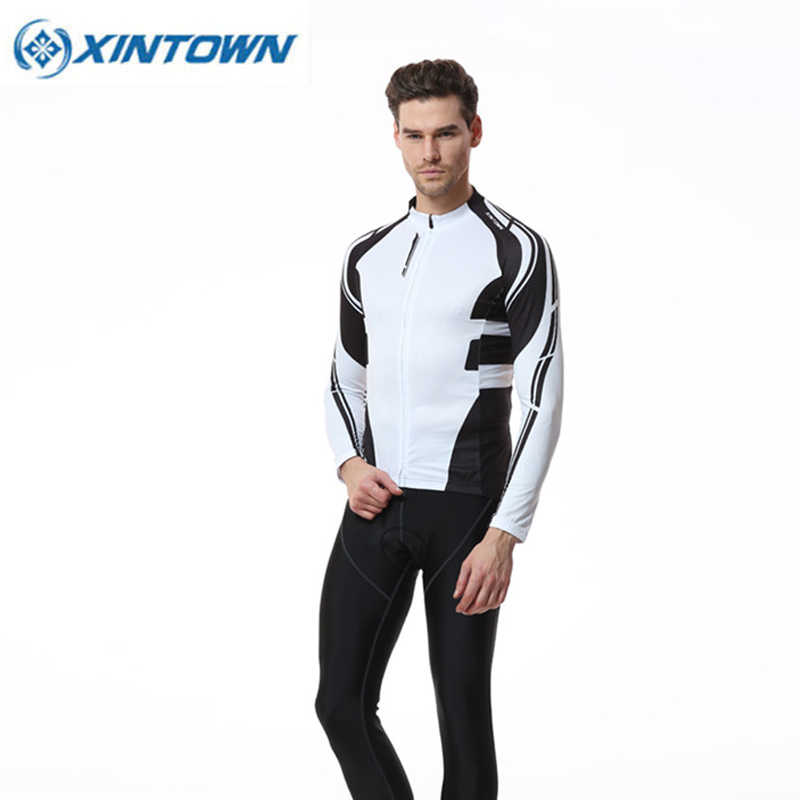 2017 Pro Team Cyclisme Equipe Cycling Clothing Bike Clothes Quick Dry Men Bicycle Clothes Long Sleeves Cycling Jerseys Sets