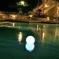 Envío gratis caliente y cómoda 16 que cambia de Color Dia 15 CM llevó bola de luz nocturna Indoor / Outdoor Home Bar Decor lámpara bola