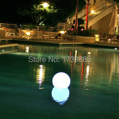 Free shipping Warm and comfortable 16 Color Changing Dia 15CM LED Ball Night Light Indoor/Outdoor Home Bar Decor Lamp Ball