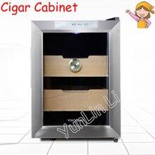 Электронный сигарный шкаф постоянная температура влажность сигарный шкаф бытовой низкий уровень шума и большой емкости сигарный шкаф SC-12AH