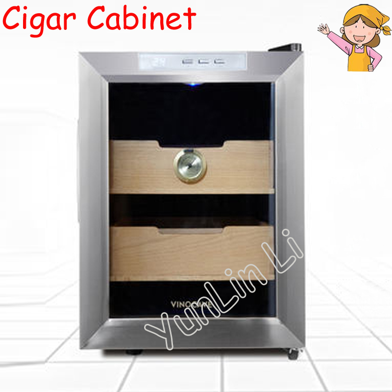 Electronic Cigar Cabinet Constant Temperature Humidity Cigar Cabinet Household Low Noise & Large Capacity Cigar Cabinet SC-12AH