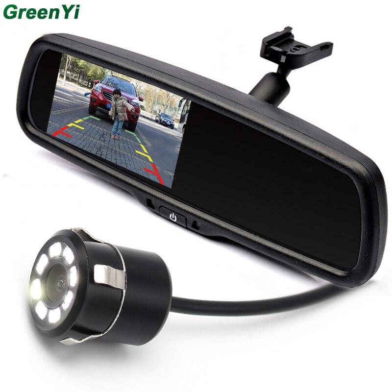 """imágenes para Soporte especial de 4.3 """"TFT LCD de Coches Aparcamiento Monitor Retrovisor Para BMW, 2 Entrada de Vídeo Para Cámara de Visión Trasera y de Vídeo"""