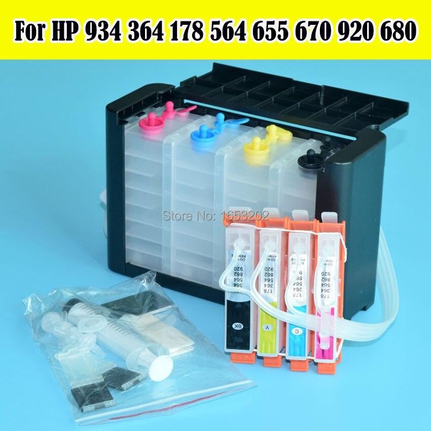 DIY 364 934 920 655 178 564 685 Ciss zonder chip Continue - Office-elektronica