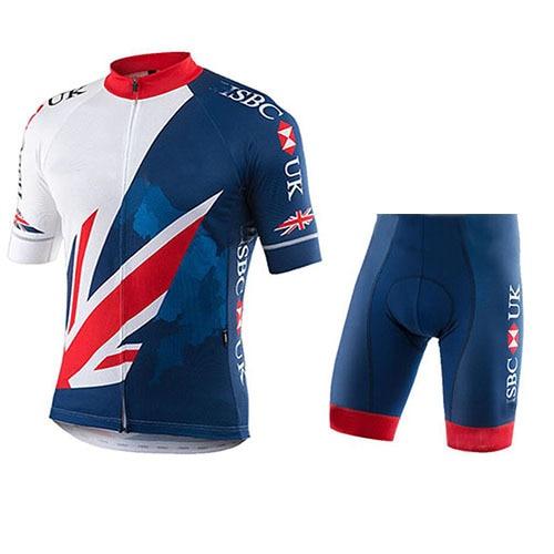 2019 New Arrival Popular Design Uk Team Cycling Jersey Maillot Biking Bib Shorts Cullot Racing Wear 9d Gel Pad Back Pockets Cycling Sets Aliexpress
