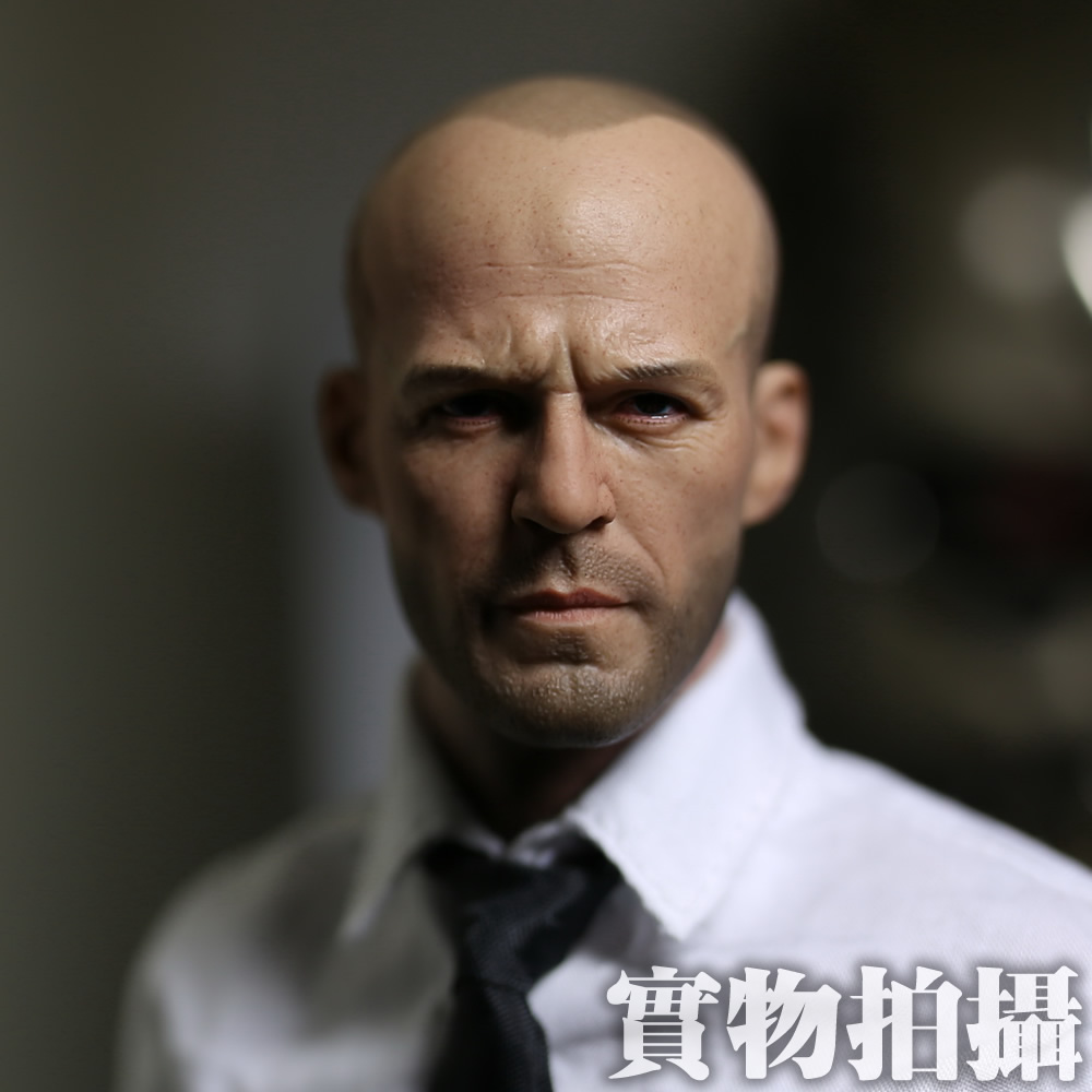 цена на 1/6 scale figure doll head shape for 12 action figure doll accessories male Jason Statham Head carved not include body,clothes