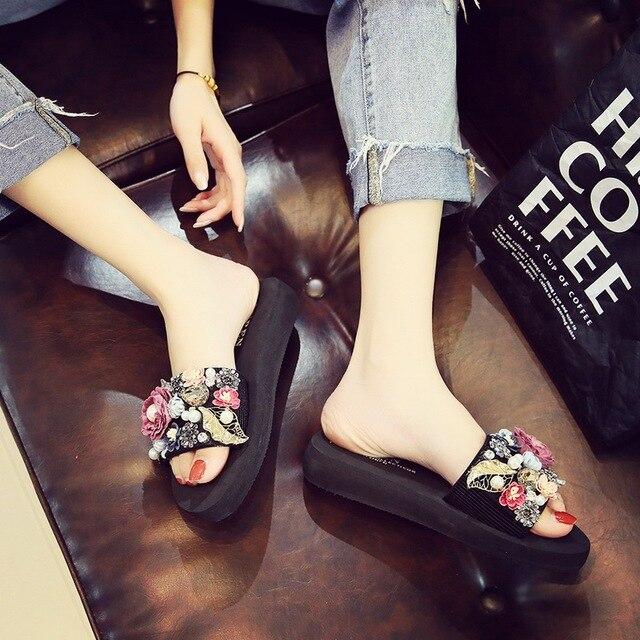 LASPERAL Laço Mulheres Verão Sandálias Chinelo Chinelo Interior Sapatos Chinelos de Praia Ao Ar Livre 2019 Novo Moda Feminina Dropshipping
