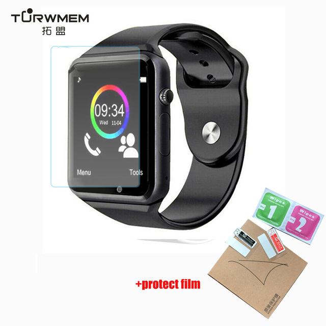 A1 Bluetooth Smart Watch Sport pedometer with SIM Camera Smartwatch for Android Smartphone Russia T15  DZ09