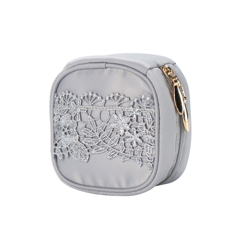 Cute Square Lace jewelry Bags Jewelry Boxes Earrings Necklac