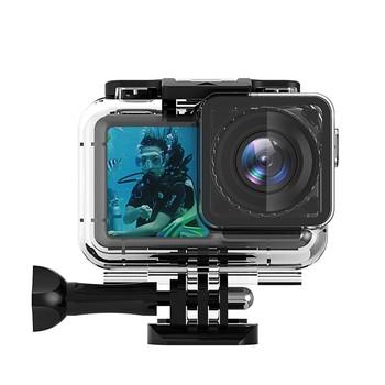 61 metrów wodoodporna obudowa Case dla DJI Osmo kamera akcji nurkowanie obudowa ochronna Shell dla DJI Osmo kamera sportowa tanie i dobre opinie EACHSHOT Case for DJI Osmo Action Camera Wodoodporne Obudowy