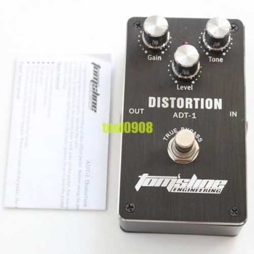 tomsline engineering  US $49.99 |NEW TOM'SLINE ENGINEERING ADT 1 Distortion EFFECT PEDAL TRUE  BYPASS FREE SHIPPING-in Guitar Parts & Accessories from Sports &  Entertainment ...
