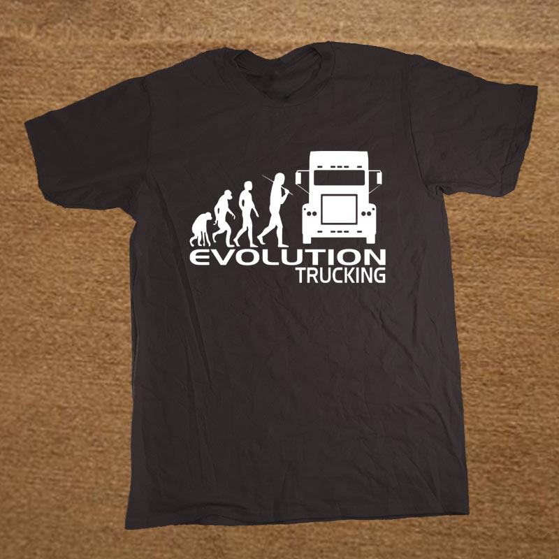 Nugget Gift Ideas Apparel: Brand Clothing EVOLUTION TRUCKING Truck Driver Cab Gift