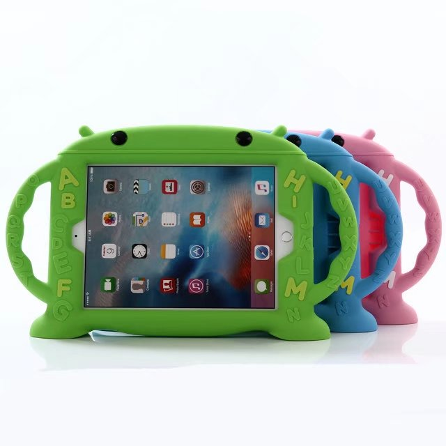 Eva Shockproof Kid Baby Safe Case For Ipad 5/6 Handles Stand Soft Cover Tablet Silicone Case For Apple Ipad Air/air 2 Case Cover